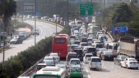 Dòng xe không nhúc nhích nổi ở cửa ngõ Pháp Vân - Cầu Giẽ