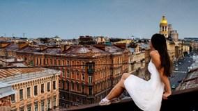 Độc đáo du lịch trên mái nhà tại St.Petersburg, Nga