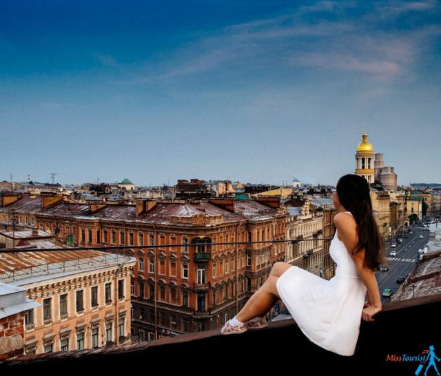 Độc đáo du lịch trên mái nhà tại St.Petersburg, Nga - Ảnh 2.