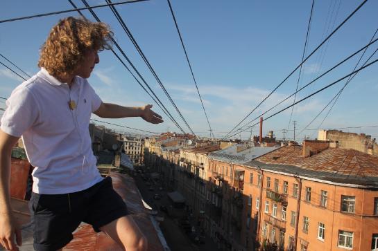 Độc đáo du lịch trên mái nhà tại St.Petersburg, Nga - Ảnh 1.