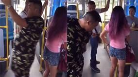 Độc chiêu chống sàm sỡ trên xe buýt của cô gái gây sốt