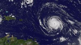 Siêu bão Irma mạnh lên cấp 5, đe dọa nước Mỹ