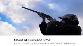 Hàng chục nghìn người Mỹ tức giận nổ súng đuổi bão Irma