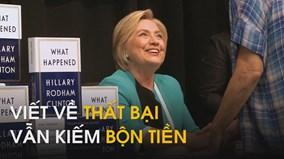 Ngày đầu ra sách về thất bại tranh cử,  bà Hillary đã kiếm bộn tiền