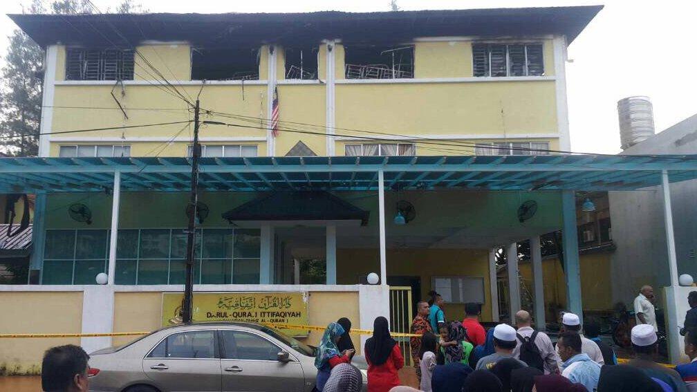 cháy trường học, thiệt mạng, Malaysia
