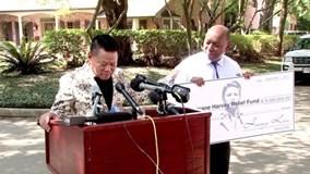 Tỷ phú Hoàng Kiều hỗ trợ 5 triệu USD khắc phục bão Harvey ở Houston