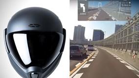 Chiếc mũ bảo hiểm đầu tiên trên thế giới cho bạn góc nhìn 360 độ