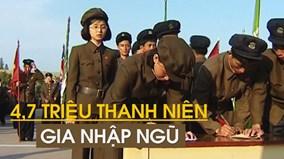 Sau cảnh báo của TT Trump, 4,7 triệu người Triều Tiên xin gia nhập ngũ