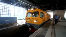 Chạy thử tàu công trình trên tuyến đường sắt Cát Linh - Hà Đông