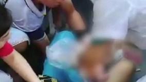 Thai phụ Trung Quốc đẻ rơi trên phố khi đi mua sắm