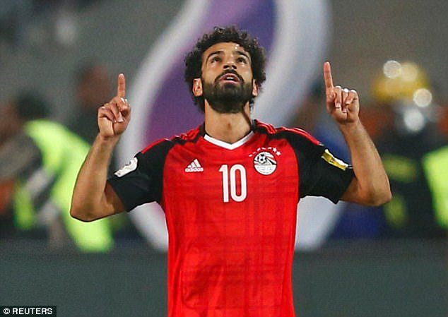 Salah, Ai Cập, World Cup 2018
