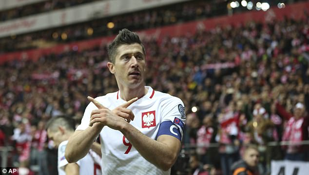 Vòng loại World Cup 2018, Ba Lan, Montenegro