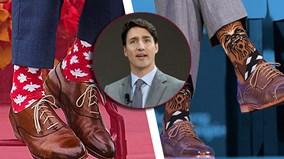 Thủ tướng Canada Justin Trudeau: 'Chúa tể của những đôi tất'