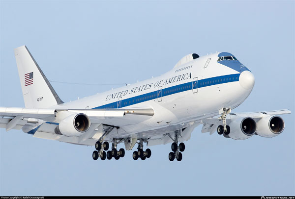 Không lực Mỹ, Máy bay Ngày Tận thế