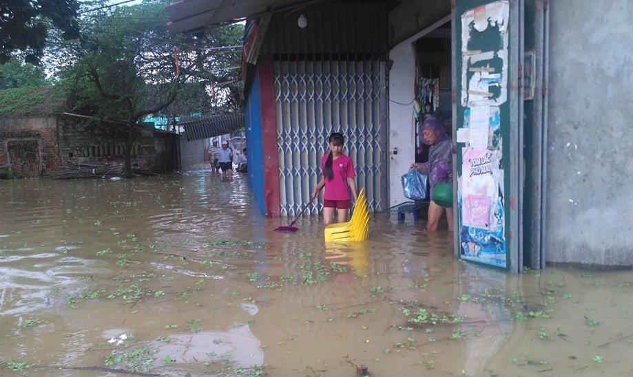 vỡ đê, lũ lụt, lũ lụt ở Hà Nội, mưa lũ, ngập lụt ở Hà Nội