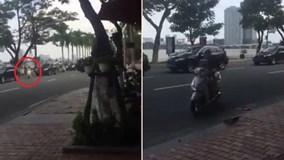 Nữ 'ninja Lead' tạt đầu dàn xe đặc chủng phục vụ APEC ở Đà Nẵng