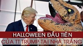 TT Trump 'quẩy' hết mình trong lễ Halloween đầu tiên tại Nhà Trắng
