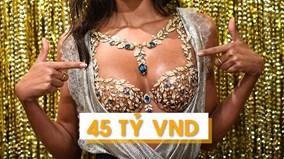 Có gì đặc biệt ở chiếc áo ngực 45 tỷ VND khiến thế giới điên đảo?