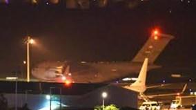 Máy bay quân sự Mỹ lần lượt đáp xuống Đà Nẵng