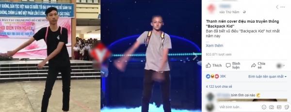 Nam sinh Việt gây bão khi cover điệu nhảy đeo cặp cực siêu-3