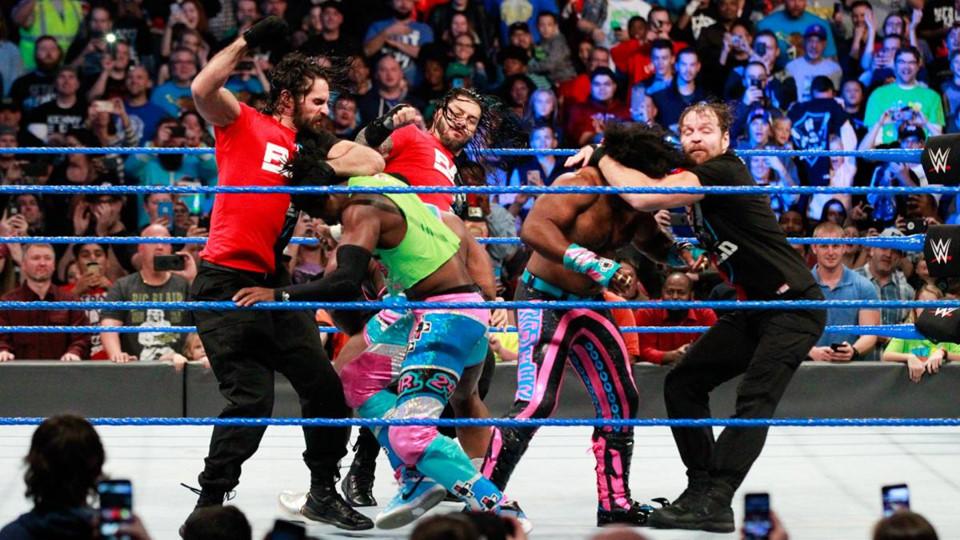 Sieu sao WWE hon chien tai show Smackdown hinh anh 3