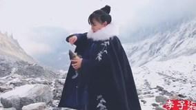 Thất tỷ lên núi phủ tuyết trắng xóa câu cá về làm món cá sốt rắc hạt thông