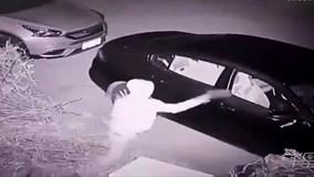 Trộm dùng gạch ném cửa kính ô tô và cái kết siêu bất ngờ