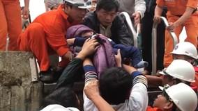 Vượt sóng lớn cứu bé trai 8 tháng nguy kịch trên đảo Cù Lao Chàm