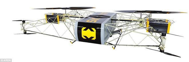 Nga chế tạo thành công siêu drone có thể chở 50kg hàng bay liên tục 8 tiếng - Ảnh 4.