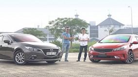 So sánh Mazda3 vs Kia Cerato: cuộc chiến Nhật - Hàn