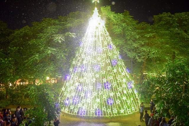 Chuẩn bị đến Giáng sinh, ĐH Thăng Long trang trí khuôn viên trường để chuẩn bị tổ chức cho các sinh viên đón lễ. Một cây thông Noel lớn được dựng trên sân trường, trang trí đèn điện rực rỡ.