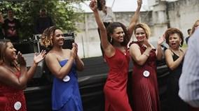 Màn trình diễn của các 'hoa hậu tù nhân' tại Brazil