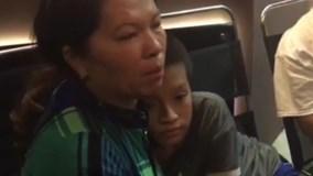 Người mẹ bật khóc khi 'hiệp sĩ' tìm thấy con trai mất tích sau 1 tháng