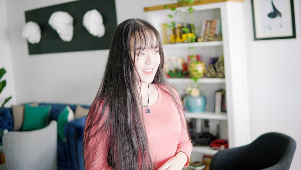 9X Sài Gòn kiếm chục triệu mỗi tháng nhờ có mái tóc dài 2 m-6