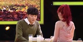 Vì yêu mà đến: Emma Nhất Khanh nắm tay 'soái ca Hàn Quốc' rời chương trình