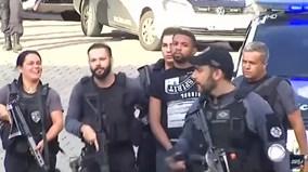 Brazil: 3000 người vây bắt trùm ma túy