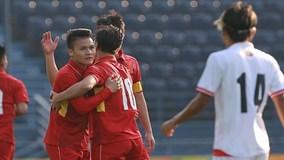 Quang Hải, Công Phượng giúp U23 Việt Nam đè bẹp Myanmar