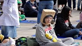 Kỳ lạ cuộc thi ngồi ngây người, không làm gì cả ở Đài Loan