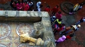 Ngôi trường xập xệ khiến 13 học sinh nhập viện