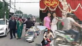 Những tên cướp giật táo tợn ngay trong đám cưới khiến cộng đồng phẫn nộ
