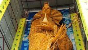 Chiêm ngưỡng tượng Phật bằng hoa bất tử lớn kỷ lục thế giới ở Đà Lạt