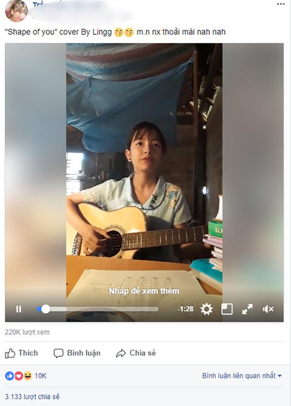 Thiếu nữ 10X xinh đẹp, hát tiếng Anh cực đỉnh gây sốt mạng xã hội-1