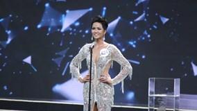 H'Hen Niê giành vương miện Hoa hậu Hoàn vũ Việt Nam 2017