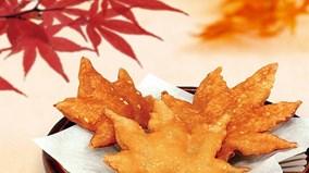 Tempura lá phong - món ăn đặc sắc chỉ có ở Nhật Bản
