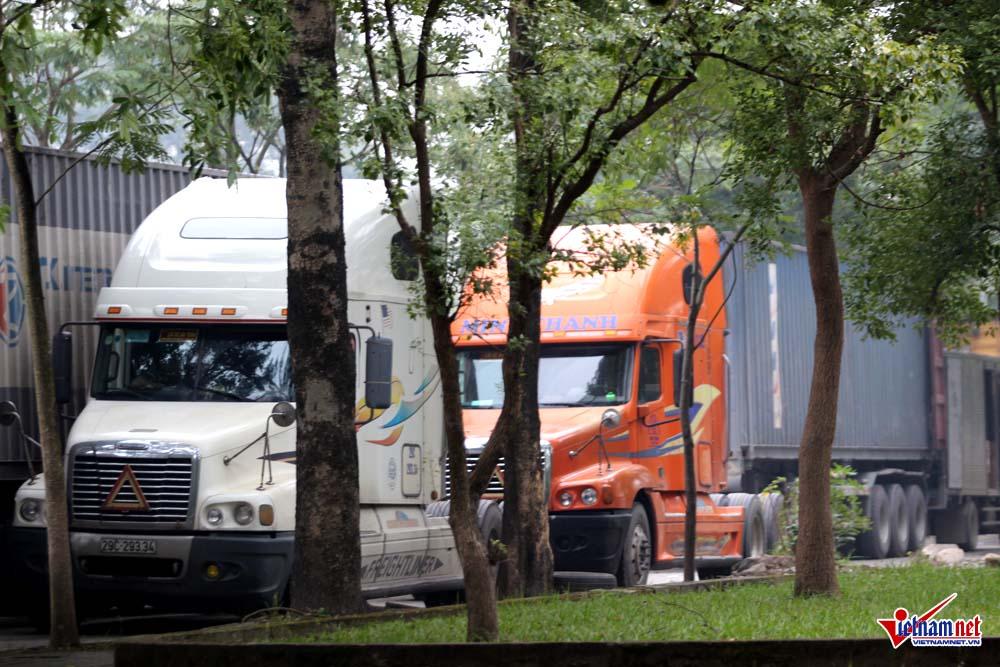 container,xe quá tải,Hà Nội