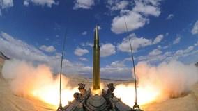 Quân đội Trung Quốc phóng tên lửa, tập trận rầm rộ