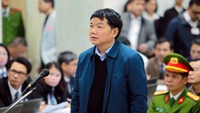 Toàn cảnh phiên xử ông Đinh La Thăng và đồng phạm sáng 11/1