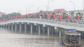 Hải Phòng: Cầu Tam Bạc bị đâm hỏng