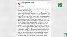 Trường Giang xin lỗi sau sự cố gây lố sóng vì màn cầu hôn Nhã Phương