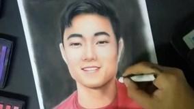Chàng trai Đà Nẵng lại gây sốt khi vẽ chân dung Xuân Trường
